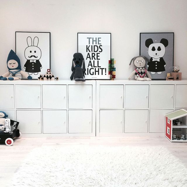 Ikea kallax for kid s dillyandtheboo for Petites baignoires ikea